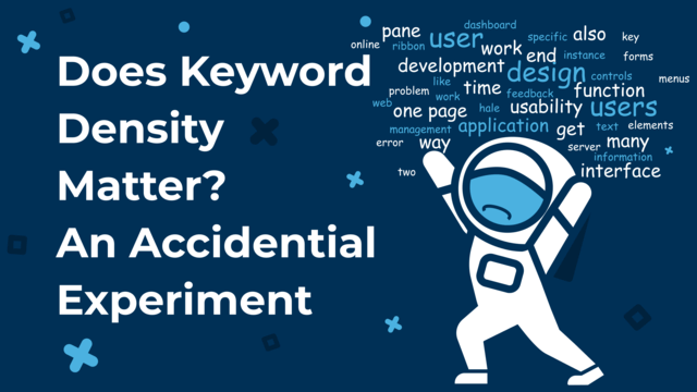 does keyword density matter?